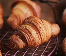 可颂羊角面包Croissant的做法