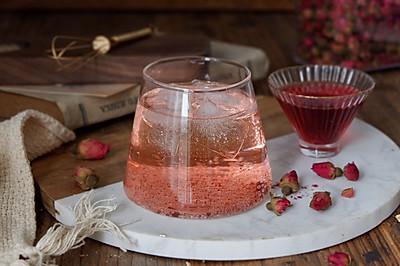 玫瑰气泡饮