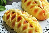 卡士达网纹面包的做法