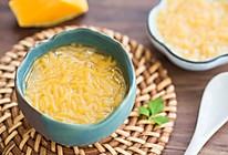 南瓜牛肉面线汤的做法