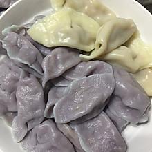紫甘蓝水饺