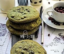 【抹茶红豆大曲奇】附:自制蜜红豆的做法