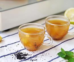 自制百香果蜜桃水果茶,坐在家里也能喝的到,还要去排队嘛?的做法