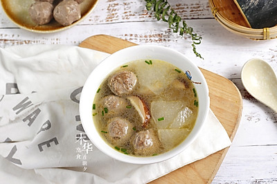 冬瓜香菇牛肉丸汤