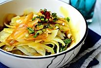 凉拌土豆片:夏日清爽素菜的做法