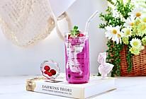 #轻饮蔓生活#蔓越莓火龙果麦片酸奶昔的做法