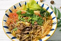 #我们约饭吧#番茄牛肉面汤的做法