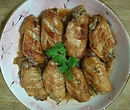 冬菜蒸翅中的做法