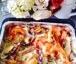 西班牙海鲜大拼盘—惊艳!的做法