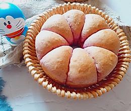 #晒出你的团圆大餐#全麦紫薯小面包的做法