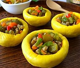 酸黄瓜肉丁福碗的做法
