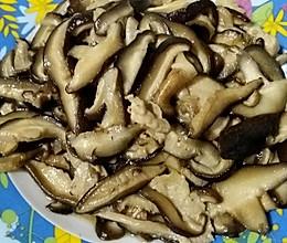蚝油香菇肉片的做法