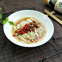 热拌金针菇#安佳幸福家常菜#的做法图解13