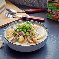 鲜菇杂菌浓汤的做法图解16