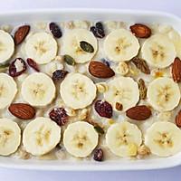 #晒出你的团圆大餐#香蕉牛奶烤燕麦的做法图解10