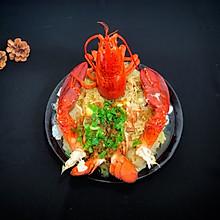 #新年开运菜,好事自然来#蒜蓉粉丝蒸龙虾