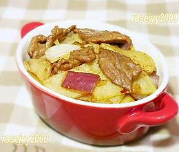 小炒咖喱牛肉土豆的做法
