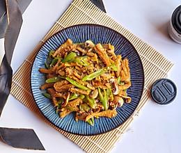 #餐桌上的春日限定#牛肚炒白蘑菇的做法
