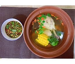 【家常菜】清炖鸡腿汤的做法