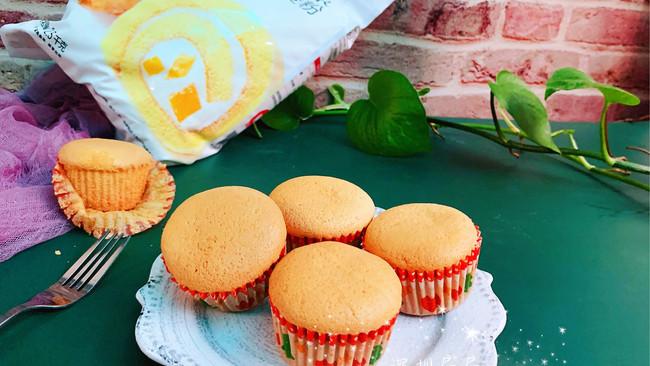 #爱好组-低筋#棉花小蛋糕的做法