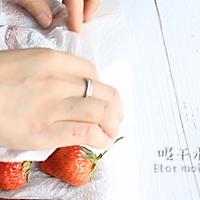 献礼祖国70周年·浓情巧克力草莓棒·为祖国加油喝彩的做法图解2