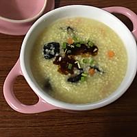 红极参小米粥的做法图解8