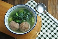 牛肉丸青菜汤的做法