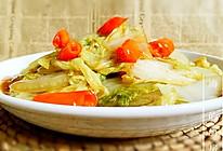 冬日里的酸辣白菜