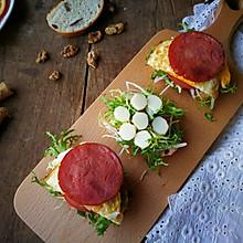 开放式三明治#美的女王节#