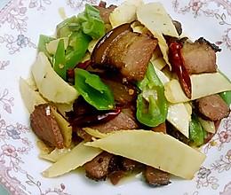 冬笋腊肉的做法