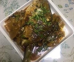 金鲳鱼清蒸香煎红烧都好吃的做法