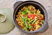 干锅菜花,下饭一流的做法
