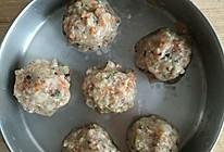 虾肉蔬菜丸子的做法