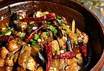 茄子焖锅鱼的做法
