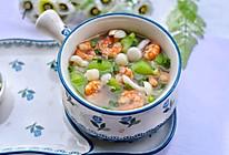 丝瓜虾仁菌菇汤的做法