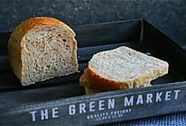 无糖无油的健康全麦面包的做法