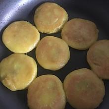 香煎牛奶豆沙馅南瓜饼