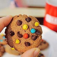 彩色巧克力豆曲奇饼干#甜蜜厨神#