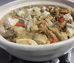咸鱼梅菜煲的做法