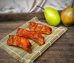 香梨烤排的做法