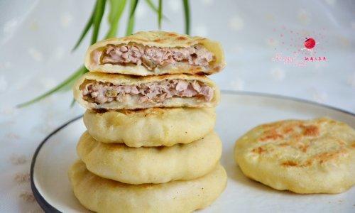 猪肉榨菜馅饼的做法