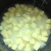土豆焖饭#美的初心电饭煲#的做法图解2