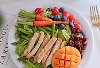 高颜值轻食:彩蔬鸡胸肉沙拉 秀色可餐的做法