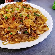#福气年夜菜#肉末粉丝炒包菜