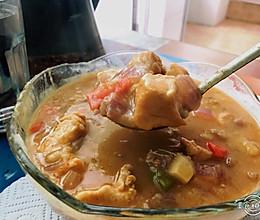 食三幺 | 香浓咖喱鸡的做法