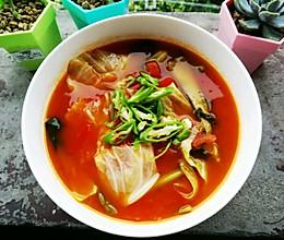 贵州酸汤煮时蔬的做法