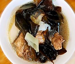 山药海带排骨汤的做法