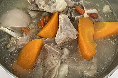 山药胡萝卜羊肉汤