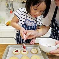 【老皮的亲子厨房】三岁孩子也能独立完成的爱心曲奇的做法图解11
