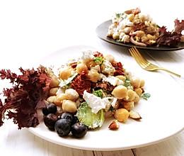 年后饱腹减肥餐-鹰嘴豆沙拉的做法